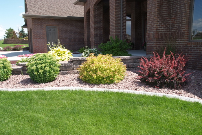 Concrete edging for Professional landscaping